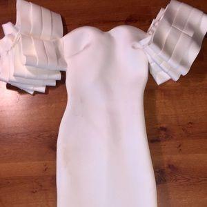 Major ruffle dress